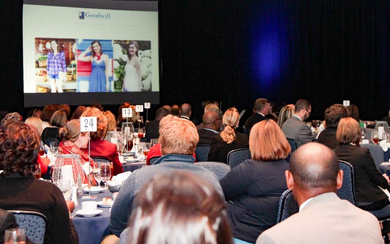 Attendees Watch Inspiring Stories About This Years Honorees