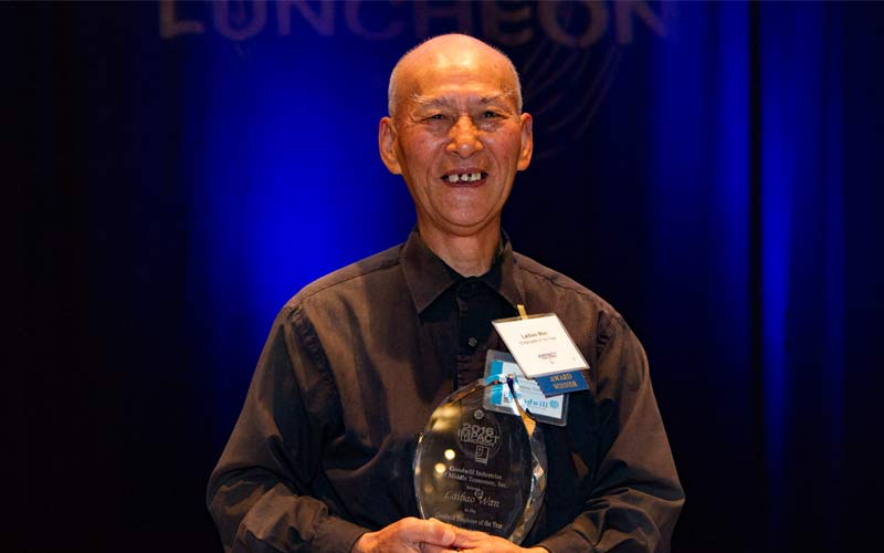Goodwill Employee of The Year - Laibao Wan
