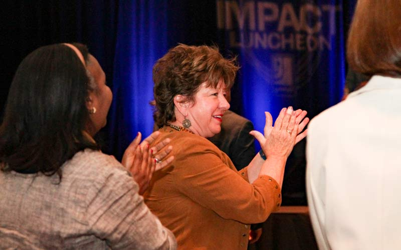 Impact  Award Attendees Honoring This Year's Winners