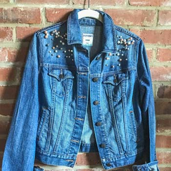 DIY PEARL EMBELLISHED DENIM
