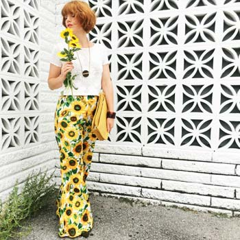 Sunflower Dream Pants: Making Your Own High Waisted Wonder Bells