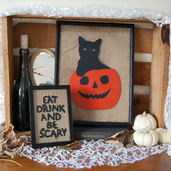 Set a Spooky Scene with This Easy Halloween Craft Project