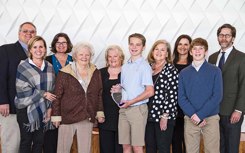 Family of Pioneer Award Recipient Russell Stansell