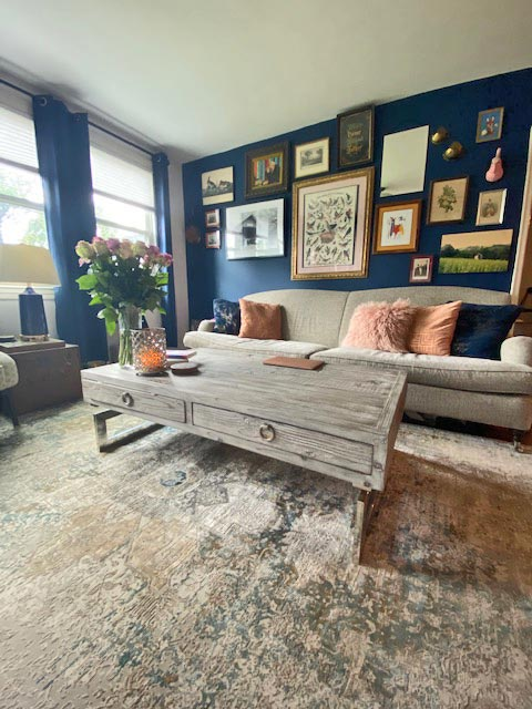 """What I love about my rooms is that I've never seen them recreated anywhere else,"" Stephanie Bowman says. Many of the items in Stephanie's East Nashville home are from Goodwill."