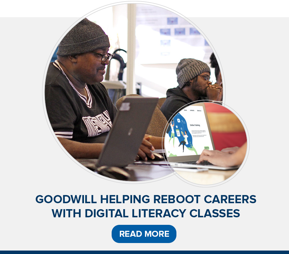 Goodwill Helping Reboot Careers With Digital Literacy Classes